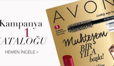 Avon Ocak Kataloğu 2016 Kampanya 1 Online Katalog
