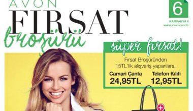 Avon K6 Kataloğu 2017 Fırsat Broşürü
