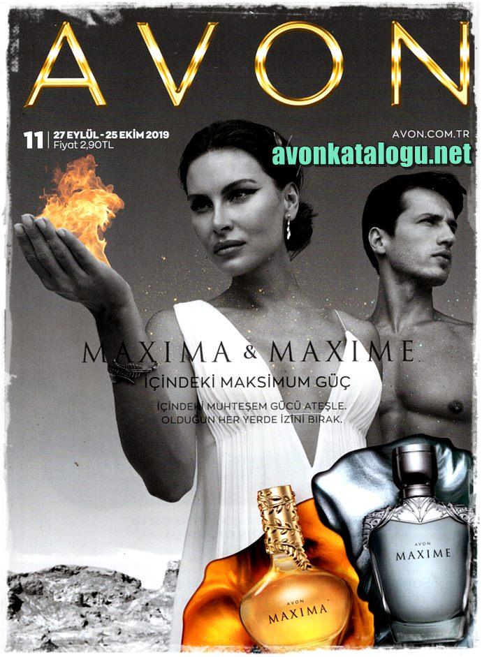 Avon Ekim Kataloğu 2019 K11 kapağı