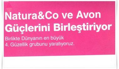 Avon ve Natura&Co Güçlerini Birleştirdi